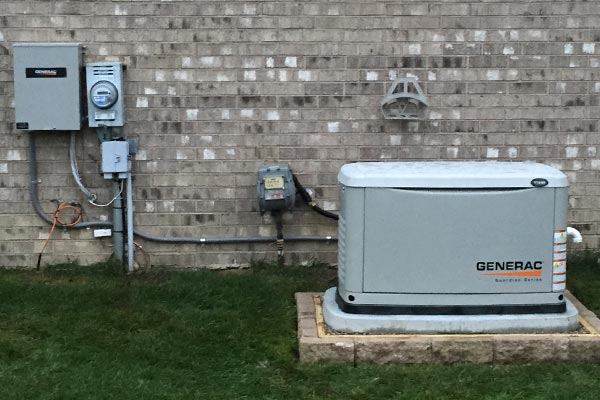 Whole House Generator Installation : Generac generators metro electric waterford michigan