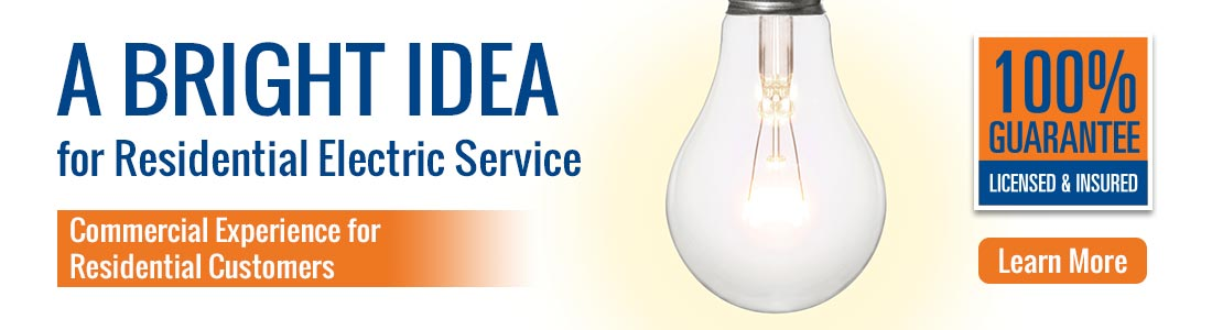 A Bright Idea for Residential Service