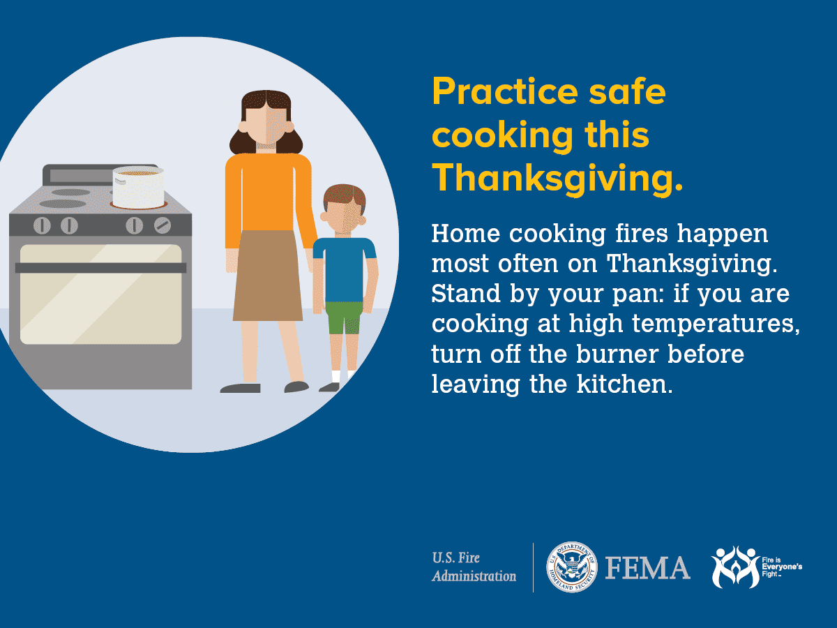 FEMA safe cooking